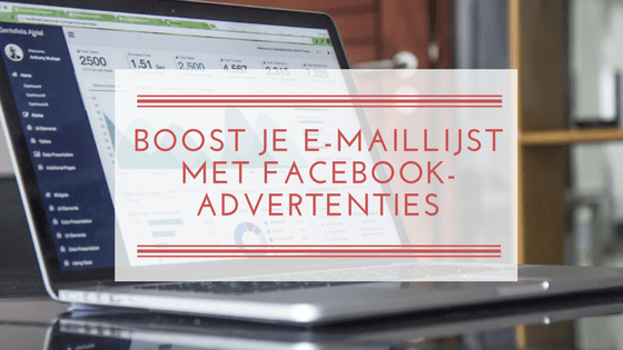 Boost je maillijst met Facebook-advertenties
